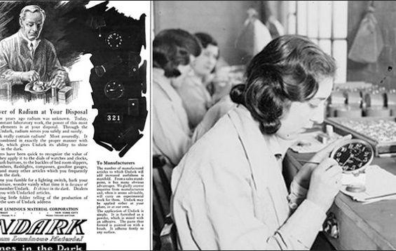 داستان زنانی که در یک کارخانه با رادیوم کشته شدند